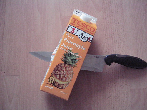Stabbed Pineapple Juice by NOGG3R5