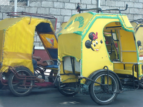 Yellow Pedicabs