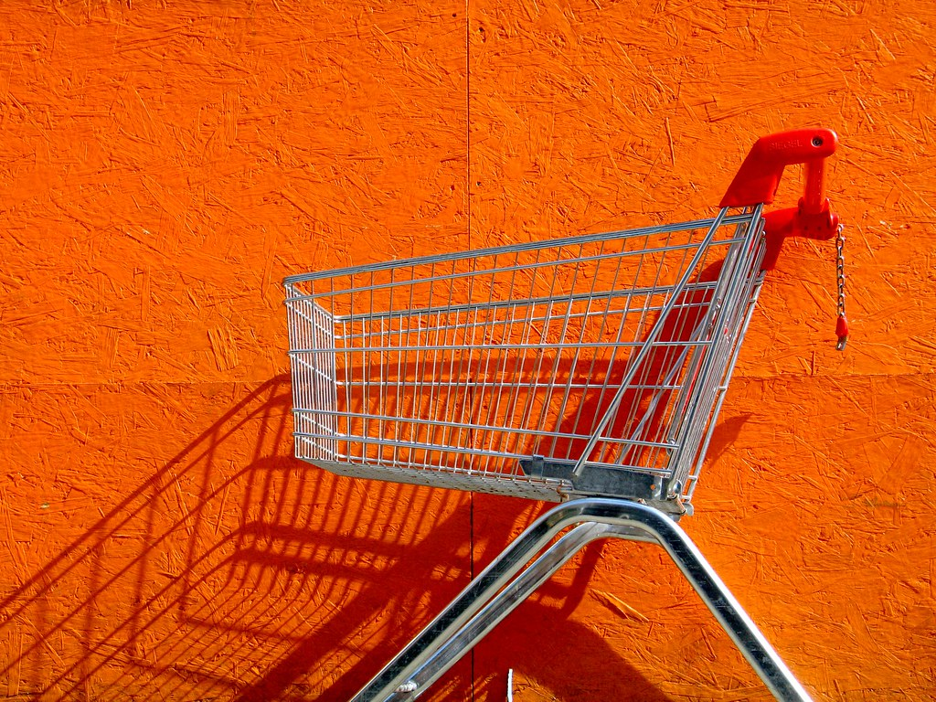 shopping orange