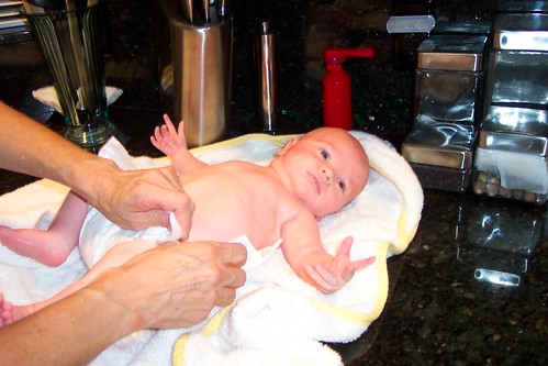 Bath by Grandma
