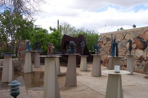 Taliesin West sculpture