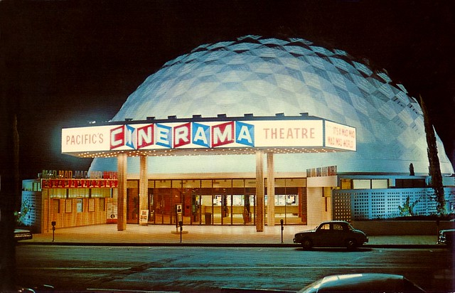 Pacific's Cinerama Theatre, LA CA, 1963