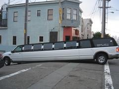 passenger(0.0), public transport(0.0), minibus(0.0), bus(0.0), automobile(1.0), automotive exterior(1.0), vehicle(1.0), transport(1.0), land vehicle(1.0), luxury vehicle(1.0), limousine(1.0),