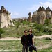 Us and Fairy Chimneys by levork