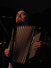 accordion, musical instrument, performance, bandoneon, singing,