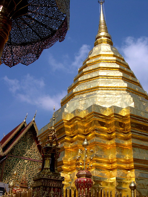 Chedi at Wat Doi Suthep