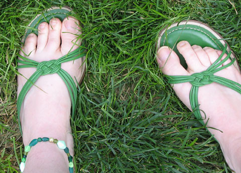 Green at my feet