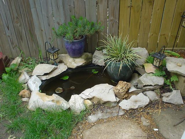Small Backyard Koi Pond Ideas : 146506633d281822436zjpg