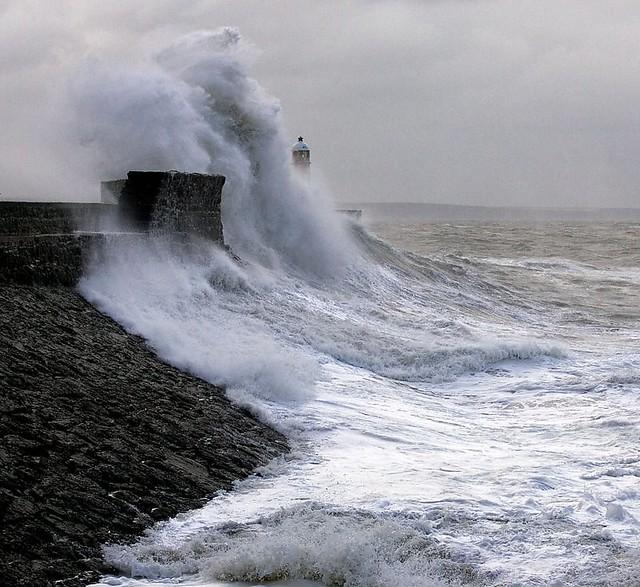 Porthcawl Harbour Storm