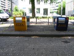 Recycling bins, Rotterdam