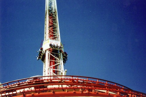Las Vegas Stratosphere The Big Shot The Stratosphere