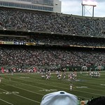 NJ - East Rutherford: Giants Stadium - Jets game (panoramic)