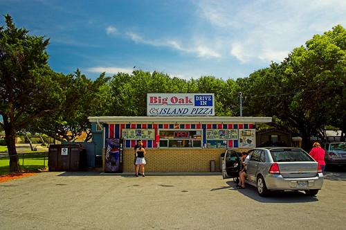 beach restaurant nc northcarolina coastal thecoast swimminglessons bigoak shrimpburger canonefs1855mmf3556 bigoakdriveinn