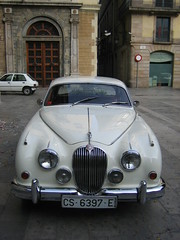 bmw(0.0), jaguar xk140(0.0), bmw 501(0.0), convertible(0.0), sports car(0.0), automobile(1.0), automotive exterior(1.0), daimler 250(1.0), jaguar xk120(1.0), jaguar mark 2(1.0), vehicle(1.0), automotive design(1.0), jaguar mark 1(1.0), mitsuoka viewt(1.0), jaguar xk150(1.0), antique car(1.0), vintage car(1.0), land vehicle(1.0), luxury vehicle(1.0), jaguar s-type(1.0),