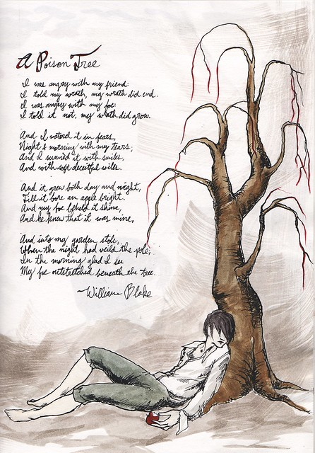 poison tree essay The poem i chose to analyze is called a poison tree, written in 1794 by william blake, a well-known 18th and 19th century poet i chose this poem because i thought it was interesting and challenging to figure out exactly how i interpreted the poem by trying to figure out exactly what blake was.