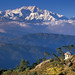Kanchenjunga Above the Clouds by Andrew Luyten