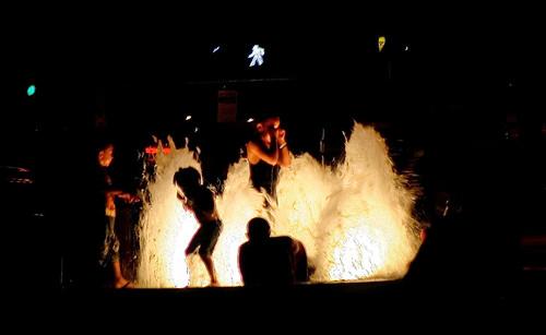 light summer signs fountain kids night geotagged cool mainstreet play kentucky lexingtonkentucky nighttime downtownlexington trafficsignal 1on1 walksignal trianglepark lovephotography fayettecountykentucky centralkentucky onlythebestare geo:lat=38048995 geo:lon=84500071