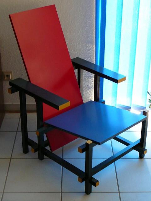 stuhl rot blau gerrit rietvelt flickr photo sharing. Black Bedroom Furniture Sets. Home Design Ideas