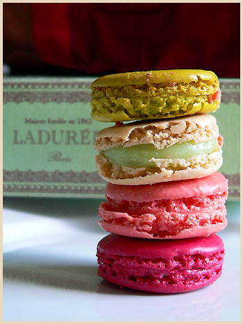 Ladurée Macarons in Paris