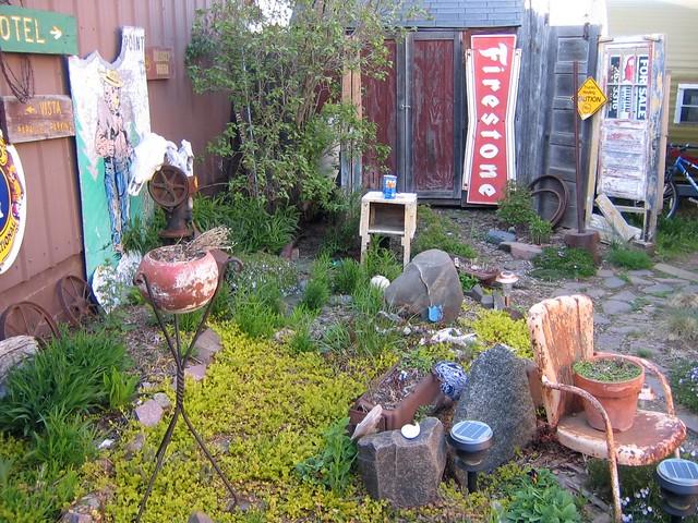 Junk Garden Flickr Photo Sharing