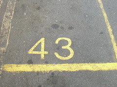 Another 43 parking space