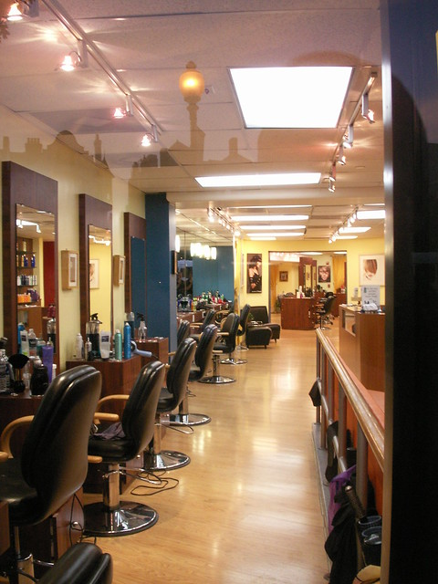 Treat yourself with a haircut at a nice hair saloon and recharge your batteries