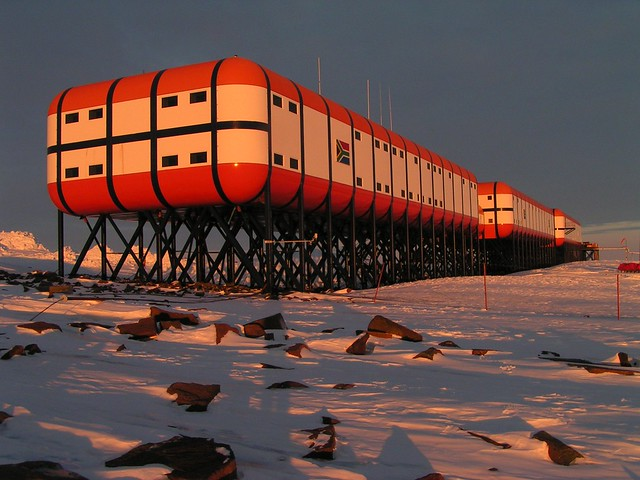 South African Antarctic Base Station
