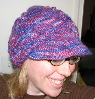 Free Knitting Pattern Baby Newsboy Hat : BABY NEWSBOY CAP PATTERNS Free Baby Patterns