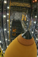 STS-115 External Tank (ET) in the VAB