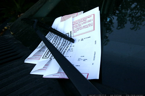 amassing parking tickets    MG 8348