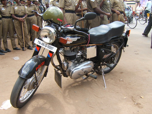 Royal Enfield Indian police