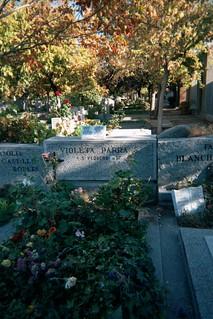 Violeta Parra's Grave