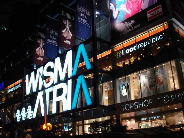 WISMA ATRIA (and foodrepublic)