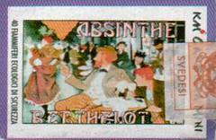 postage stamp, cross-stitch,