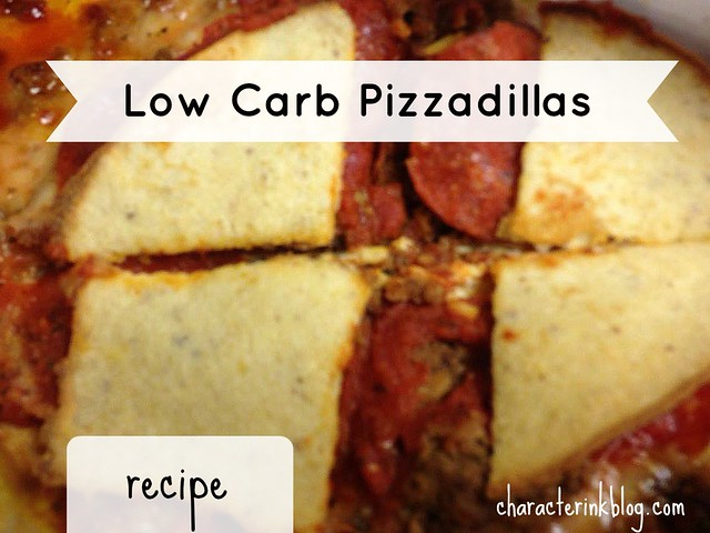 Low Carb Pizzadillas