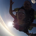 Near sunset skydive!