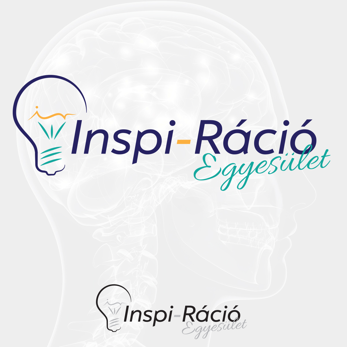 Inspi-Ráció Egyesület logóterv