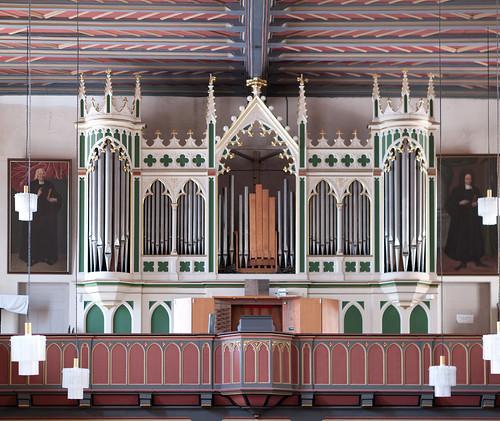 The Organ of St. Peter's Church, Eisenberg, Germany