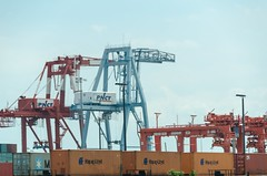 vehicle(0.0), transport(0.0), freight transport(0.0), jackup rig(0.0), container ship(0.0), oil field(0.0), port(1.0), construction equipment(1.0), infrastructure(1.0),