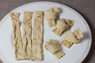Yuba Tofu Skin Knots - Pre-marinade