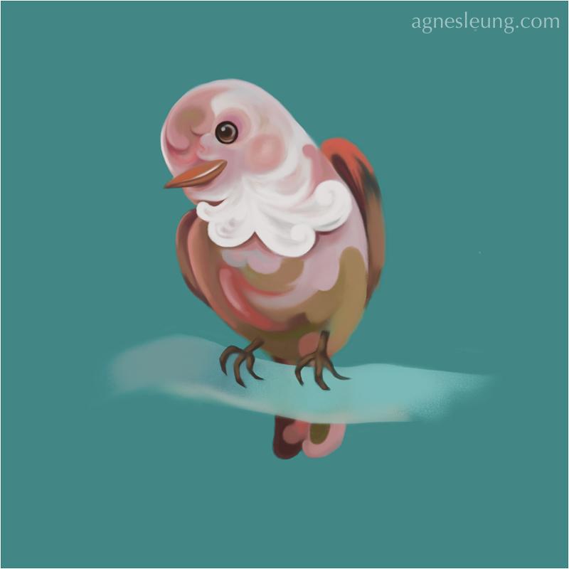 Bird sketching 03-07-2015