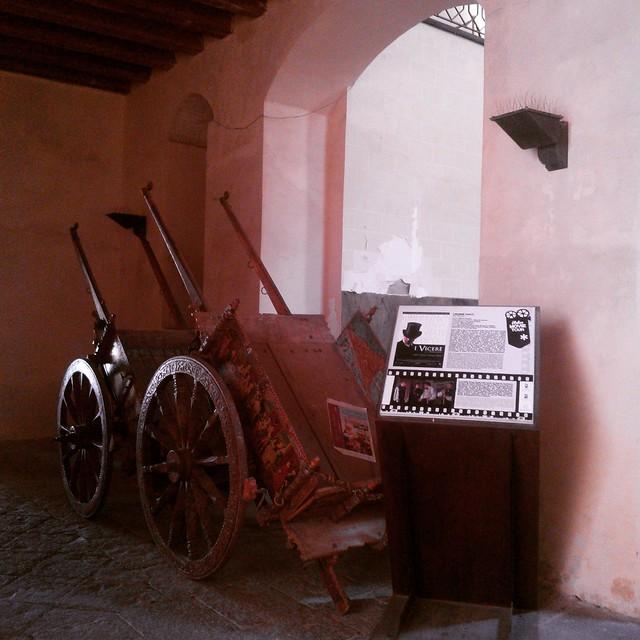 Entrata Castello DONNA FUGATA a Ragusa