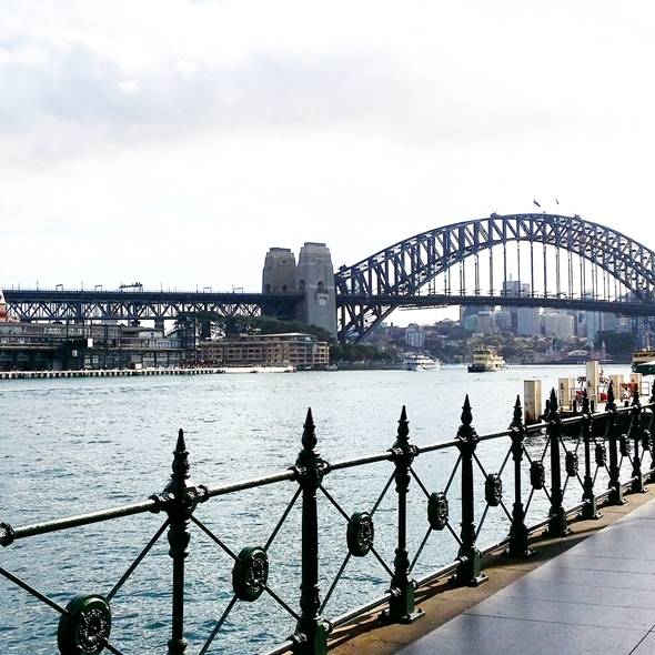 Sydney Harbour Bridge | www.fussfreecooking.com