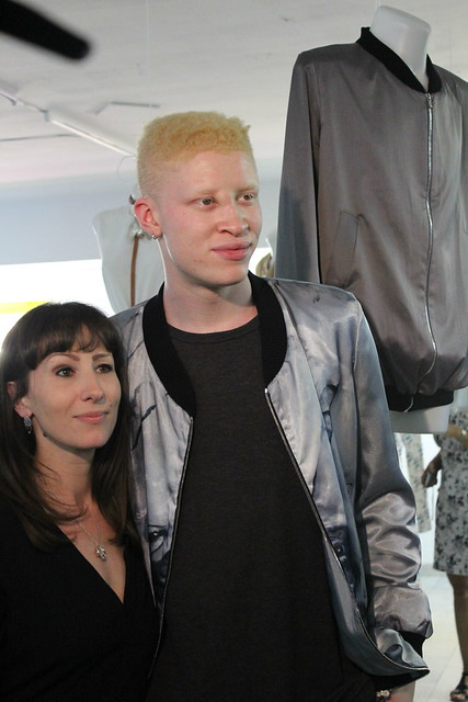 Shaun Ross Nina Athanasiou Berlin Fashion Week