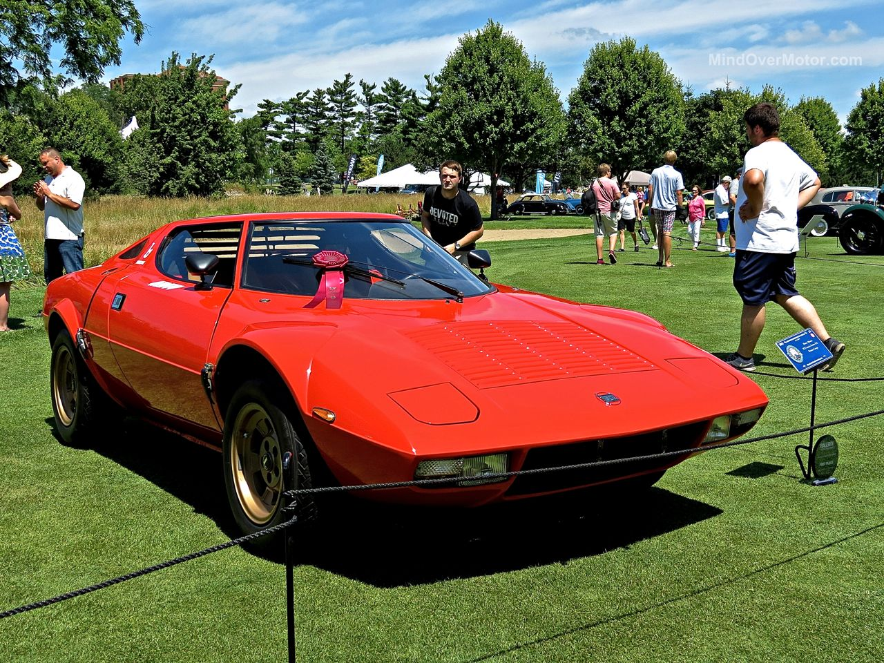 Lancia Stratos Concours of America