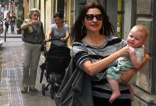 Maite, Liam, Nines, Eva.  Barcelona (2015)