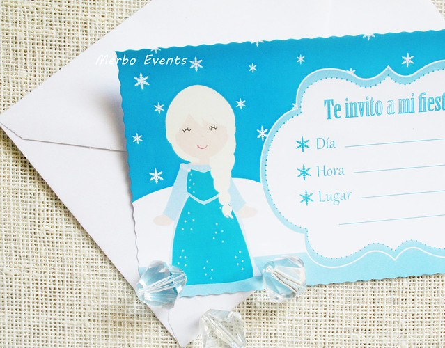 Frozen Invitación Merbo Events
