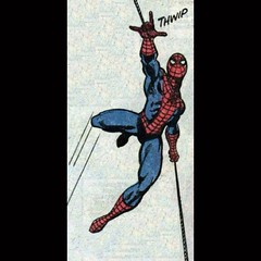 Thwip! By John Romita. #SpiderMan #comics