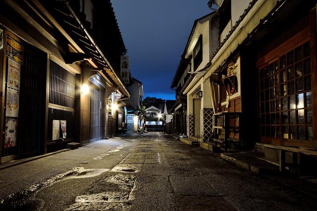 倉敷美観地区の夜景4