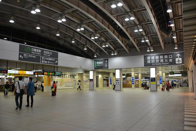 JR日暮里駅